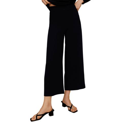 Mango Black Culottes Trousers