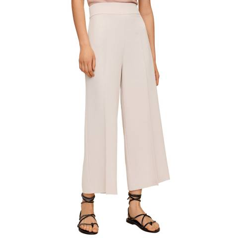 Mango Light Pink Culottes Trousers