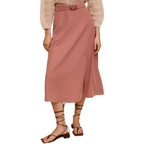 Mango Pink Modal Skirt