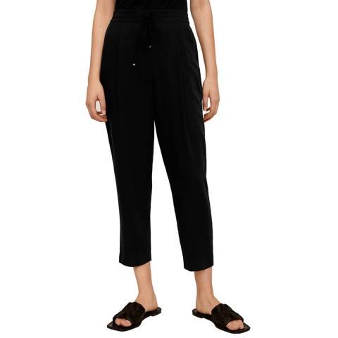 Mango Black Suit Laces Pant