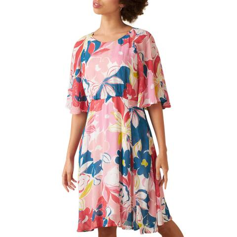 Emily and Fin Pink Asilah Floral Ines Dress