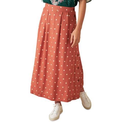 Emily and Fin Desert Rose Dot Briony Skirt Long