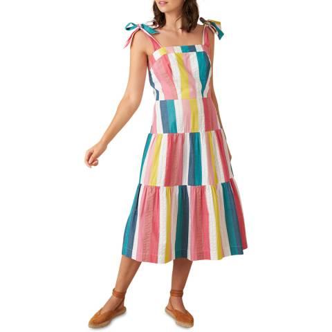Emily and Fin Summer Rainbow Stripe Iona Dress