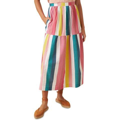 Emily and Fin Summer Rainbow Stripe Iona Skirt