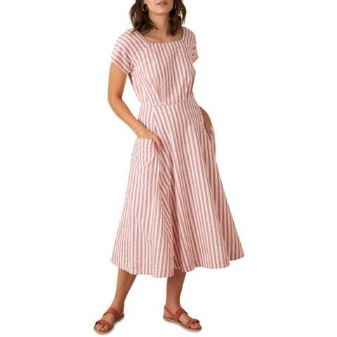 Emily and Fin Riviera Stripe Aubrey Dress