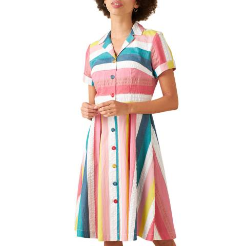 Emily and Fin Summer Rainbow Stripe Kate Dress