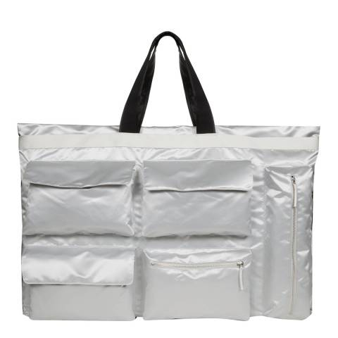 Eastpak Silver Raf Simons Subculture Poster Tote