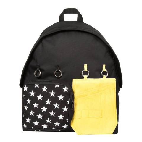 Eastpak Black White Star Raf Simons Padded Doubl'r Backpack