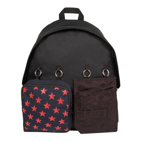 Eastpak Black Red Star Raf Simons Padded Doubl'r Backpack