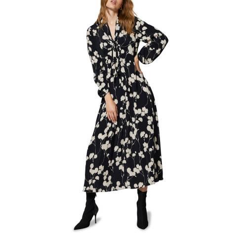 Mint Velvet Abi Floral Print Midi Dress