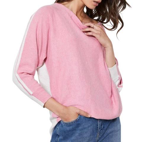 Mint Velvet Pink Batwing Cashmere Blend Jumper