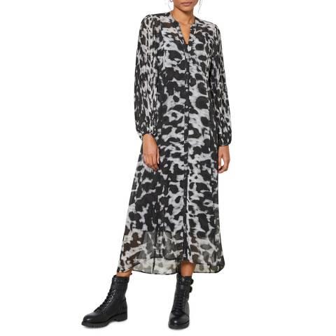Mint Velvet Alexa Print Midi Shirt Dress