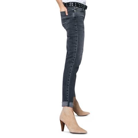 Mint Velvet Dakota Grey Boyfriend Jeans