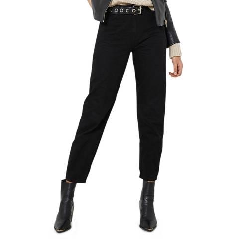 Mint Velvet Hudson Black Slouchy Jeans