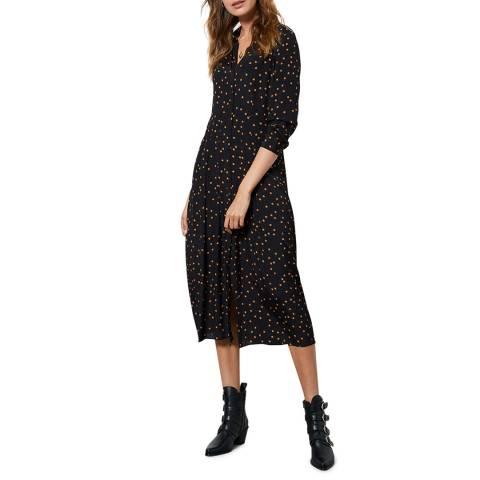 Mint Velvet Star Print Shirt Midi Dress