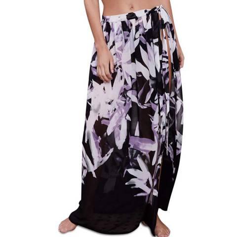 Mint Velvet Marcy Floral Beach Maxi Skirt