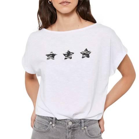 Mint Velvet White Sara Star T-Shirt