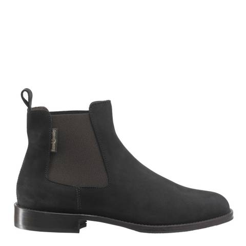 Russell & Bromley Black Leather Chelsea Boots