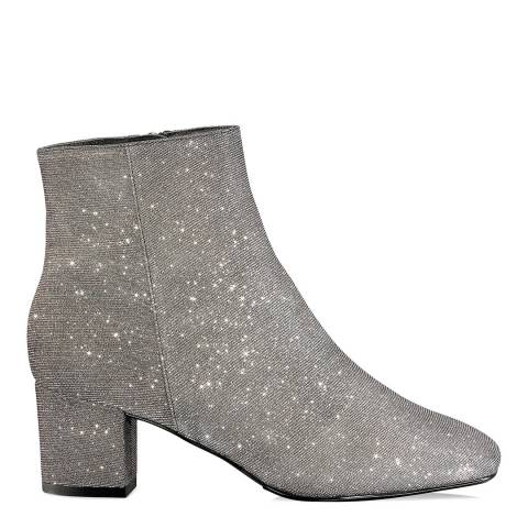 Russell & Bromley Metallic Glitter Trinity Classic Ankle Boot