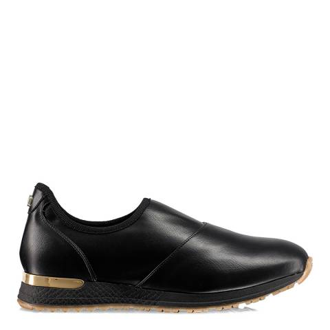 Russell & Bromley Black Stretch out Slip-On Sneaker