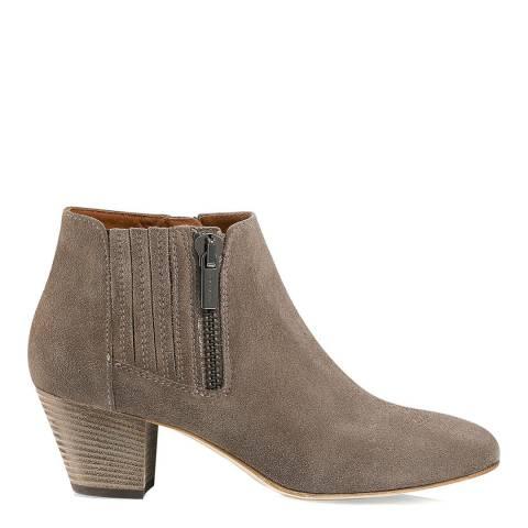 Russell & Bromley Beige Suede Fallon Chelsea Boot