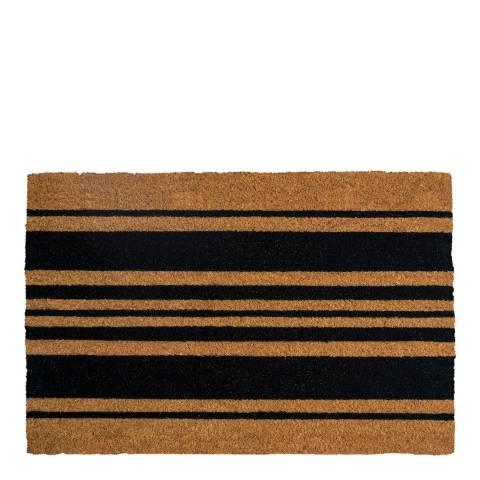 Entryways Bold Stripes Coir Doormat 40x60cm