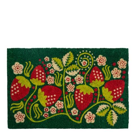 Entryways Strawberry Vines Coir Doormat 40x60cm