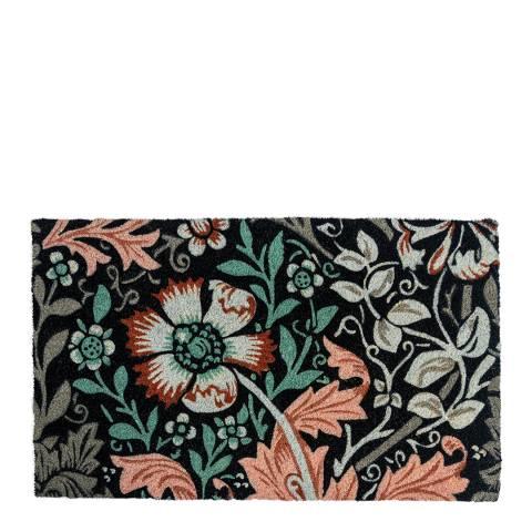 Entryways V&A Museum Dianthus Coir Doormat 45x75cm
