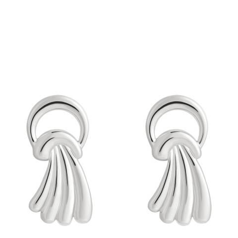 Astrid & Miyu Silver Waterfall Stud Earrings