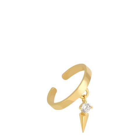 Astrid & Miyu Gold Mystic Spike Ear Cuff