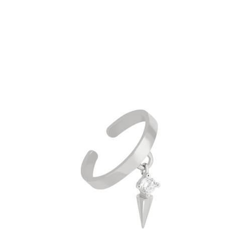 Astrid & Miyu Silver Mystic Spike Ear Cuff
