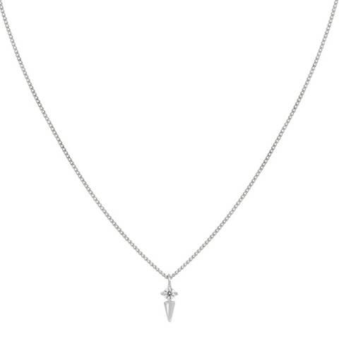 Astrid & Miyu Silver Mystic Spike Necklace