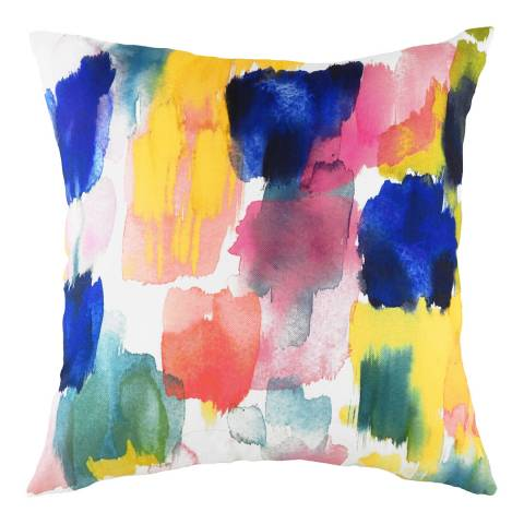 Evans Lichfield Aquarelle Brushstrokes Cushion 43x43cm