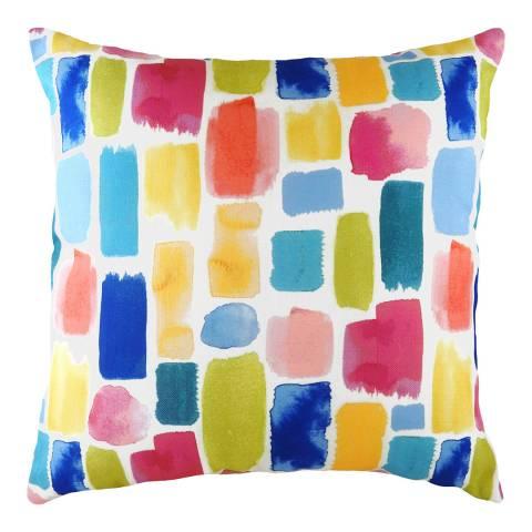 Evans Lichfield Aquarelle Dash Cushion 43x43cm