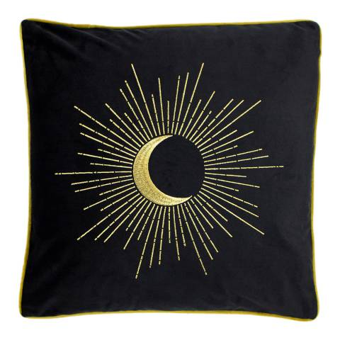 Riva Home Astrid Cushion 50 x 50cm in Black