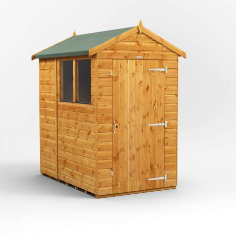 Power Sheds 6x4 Power Apex Garden Shed