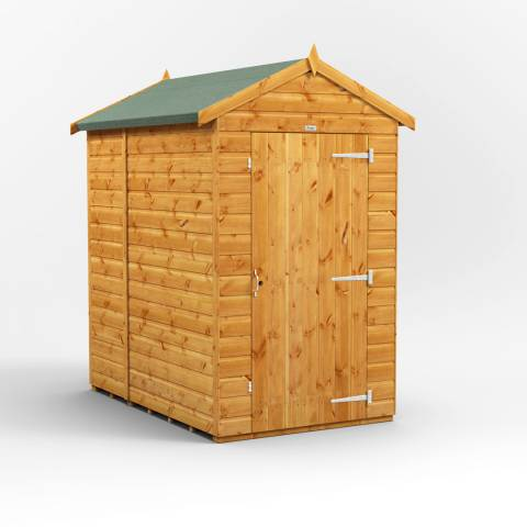 Power Sheds 6x4 Power Windowless Apex Garden Shed