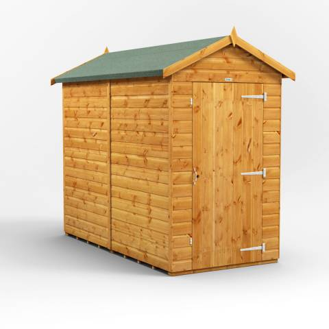 Power Sheds 8x4 Power Windowless Apex Garden Shed