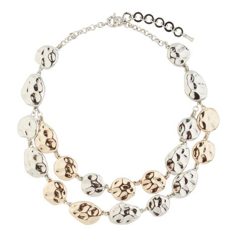 Hobbs London Silver/Gold Hayley Necklace