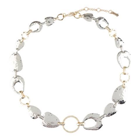 Hobbs London Silver/Gold Harriet Short Necklace