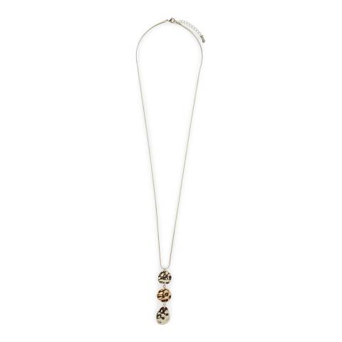 Hobbs London Silver/Gold Hayley Pendant