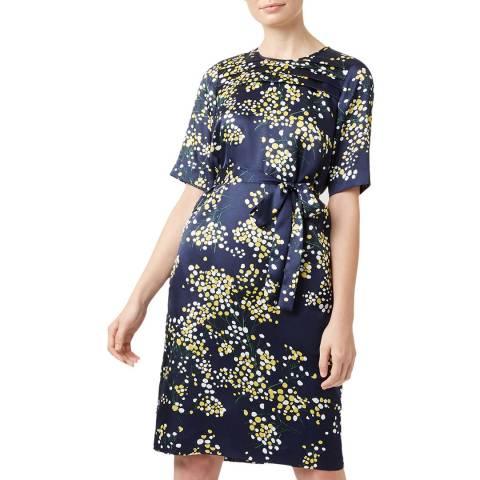 Hobbs London Navy Madeline Dress