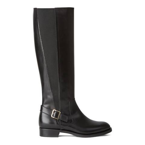 Hobbs London Black Nicole Buckle Boot
