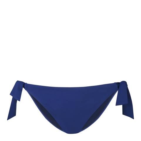 L K Bennett Ink Blue Enid Bikini Briefs