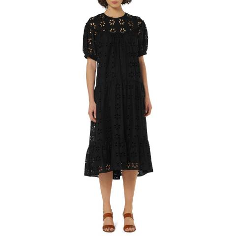 L K Bennett Black Summer Rego Dress