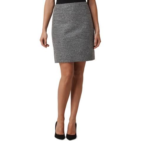 L K Bennett Grey Holly Mini Skirt