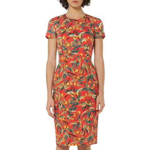 L K Bennett Multi Printed Susie Dress