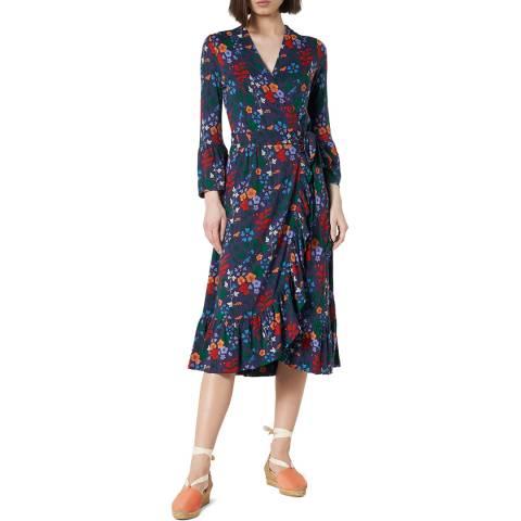 L K Bennett Multi Floral Vika Dress