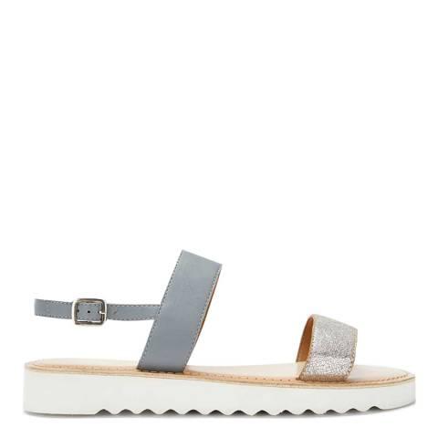 Mint Velvet Grey Rach Sporty Flat Sandals
