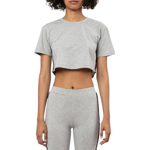 Religion Grey Cropped T-shirt
